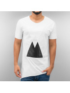 Just Rhyse T-Shirt Triangle white