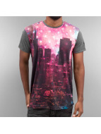 Just Rhyse t-shirt Skyline zwart