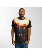 Just Rhyse t-shirt Goleta zwart