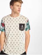 Just Rhyse T-Shirts Paradise beyaz
