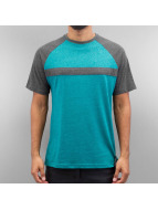 Just Rhyse T-Shirty Stripe zielony