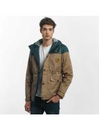 Just Rhyse Leaf Jacket Beige/Green