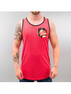 Just Rhyse Tank Tops Flower red