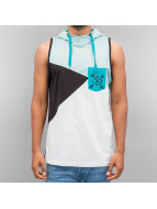 Just Rhyse Tank Tops Hooded turkoosi