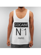Just Rhyse Tank Tops Cocaine No1 weiß