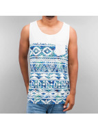 Just Rhyse Tank Tops Diamond weiß