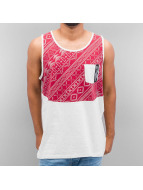 Just Rhyse Tanktop Pattern rood