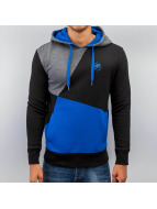 Three Tone Hoody Blue...