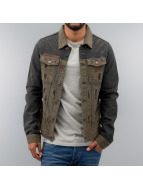 Just Rhyse Transitional Jackets Jeans khaki
