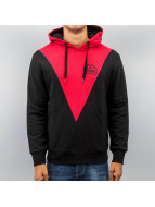 Triangle Hoody Red/Black...