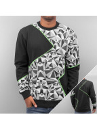 Triangle Sweatshirt Blac...