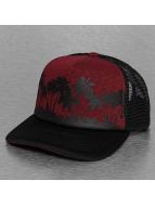 Just Rhyse Trucker Cap Palms red