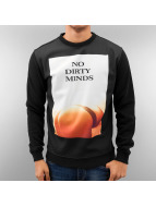 Just Rhyse trui No Dirty Minds zwart