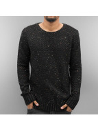 Just Rhyse trui Soft Knit zwart