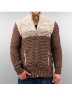 Just Rhyse vest Creco bruin