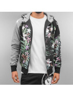 Just Rhyse Zip Hoodie Jungle черный