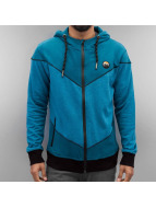 Just Rhyse Zip Hoodie Casian blue