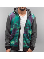 Just Rhyse Zip Hoodie Nordlichter colored