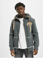 Just Rhyse Sun Zip Hoody Charcoal