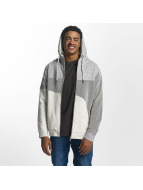 Just Rhyse Rusher Zip Hoody Grey/White