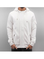 Just Rhyse Zip Hoodie Malina Bay white