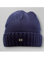 K1X Beanie Authentic Knit blauw