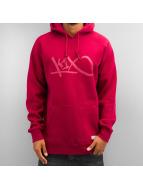 K1X Bluzy z kapturem Grip Tag czerwony