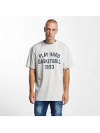K1X Camiseta Play Hard Basketball gris