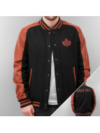 K1X College Jacke Vintage Leatherman schwarz