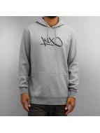 K1X Felpa con cappuccio Hardwood grigio