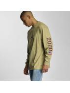 K1X Pitkähihaiset paidat YZY 2020 oliivi