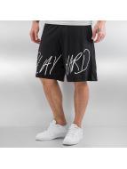 K1X shorts Scribble zwart