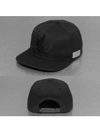K1X Snapback Cap Leaf Mono black
