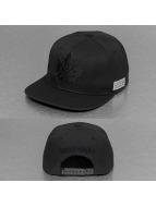 K1X Snapback Caps Leaf Mono musta