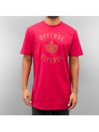 K1X T-shirt longoversize O.D. rouge