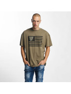 K1X T-shirt NOH Flag oliv