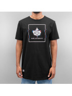 K1X t-shirt Glitch Logo Long zwart