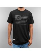 K1X T-Shirty Monochrome Flag czarny