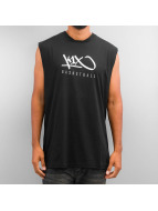 K1X Tank Tops Hardwood Sleeveless black