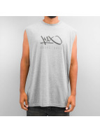 K1X Tank Tops Hardwood Sleeveless harmaa
