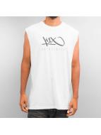 K1X Tank Tops Hardwood Sleeveless valkoinen