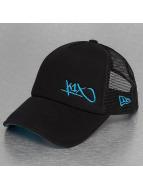 K1X trucker cap Flawless Tag Pique zwart