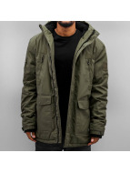 K1X winterjas Urban Hooded ZT olijfgroen