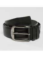 Kaiser Jewelry Gürtel Leather schwarz
