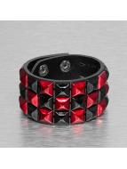 Kaiser Jewelry Rannekorut 3 Row punainen
