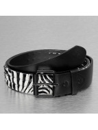Kaiser Jewelry riem 3 Row Safari zwart