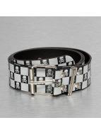 Kaiser Jewelry riem Skull zwart
