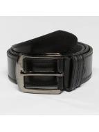 Kaiser Jewelry riem Leather zwart