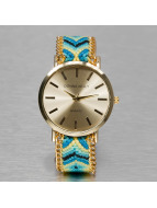 Kaiser Jewelry Watch Textil blue