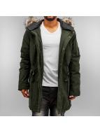 Khujo Coats Dock olive